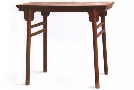 明黄花梨夹头榫酒桌