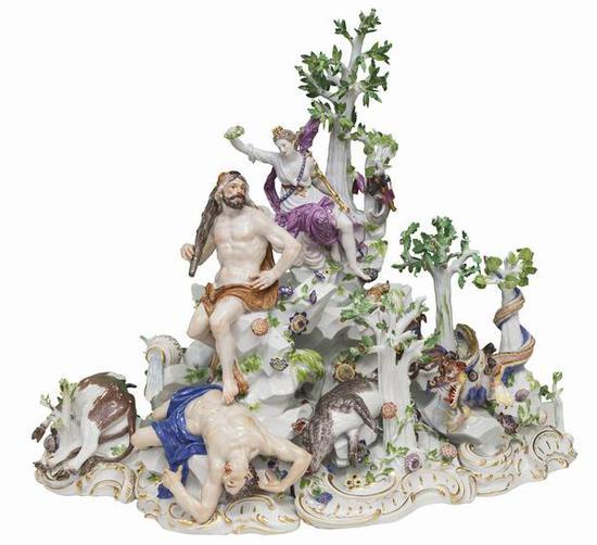 神话雕塑,梅森瓷器博物馆藏