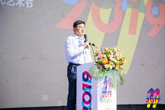 通州区委副书记 初军威宣布开幕