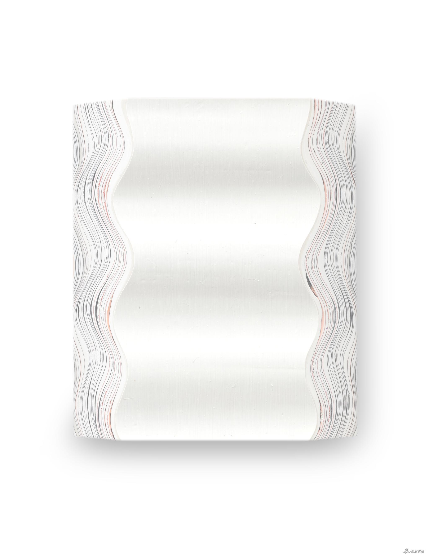 造型与时间 2020-3 画心49x58x6cm 含框56.5x66cm 综合材料 2020