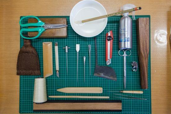古籍修复所要用到的工具