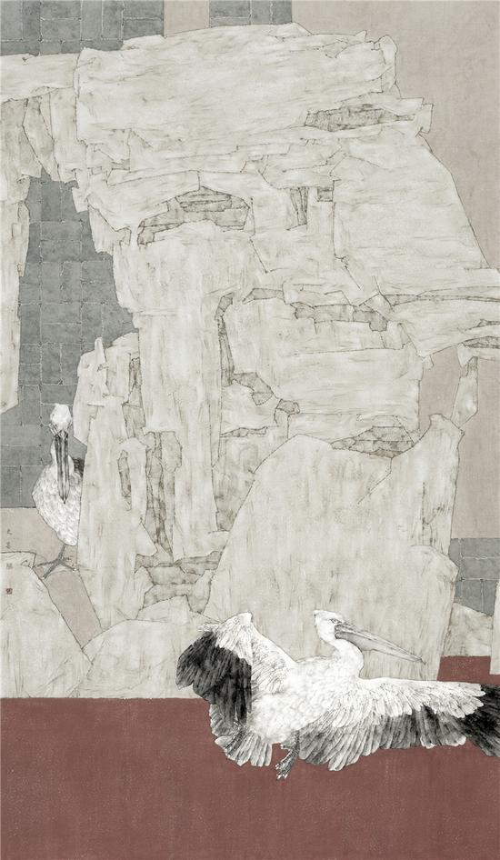 《诗和远方》入选金城流韵 21世纪新丝绸之路全国中国画作品展