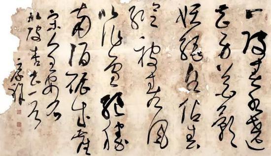 王厚祥的草书着实潇洒稳健。