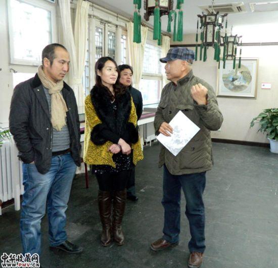 王永芬水墨人物画展在京开幕